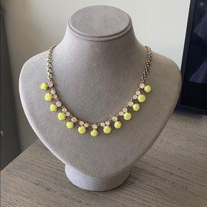 JCrew Neon Gemstone Necklace